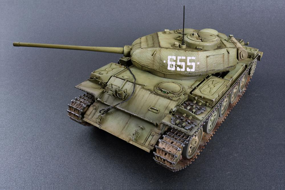 37002 T-44M 苏联中型坦克