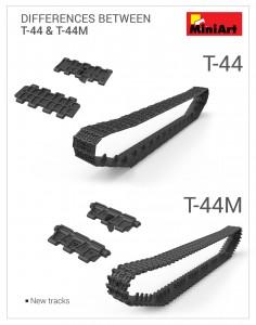 3D renders 37002 T-44M SOWJETISCHEN MITTELTANK