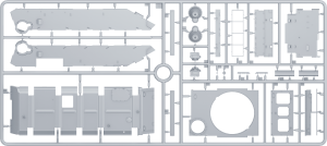 Content box 37002 T-44M 苏联中型坦克