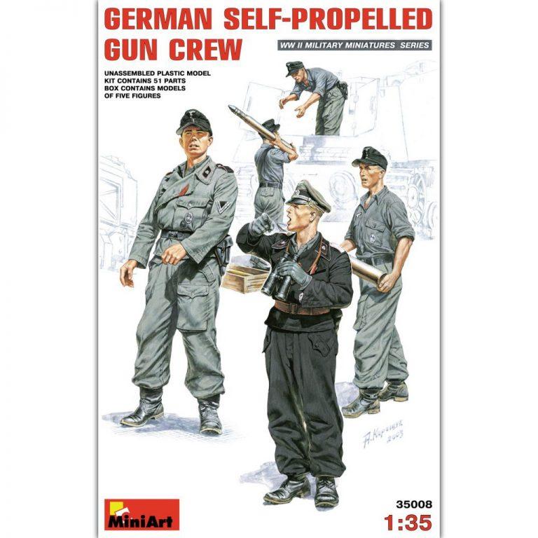 GERMAN SELF-PROPELLED GUN CREW
