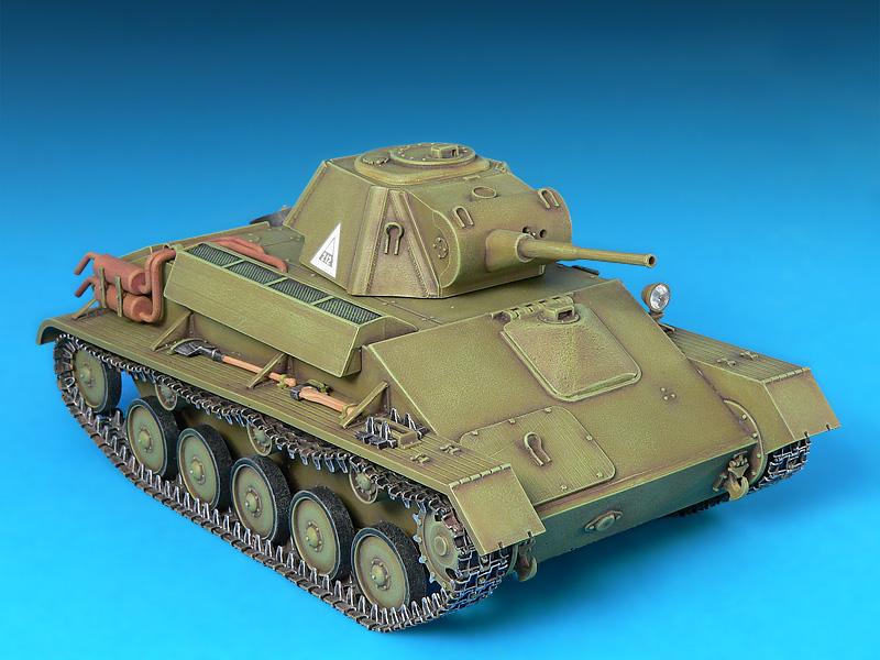 35030 苏联轻型坦克T-70M 晚期型