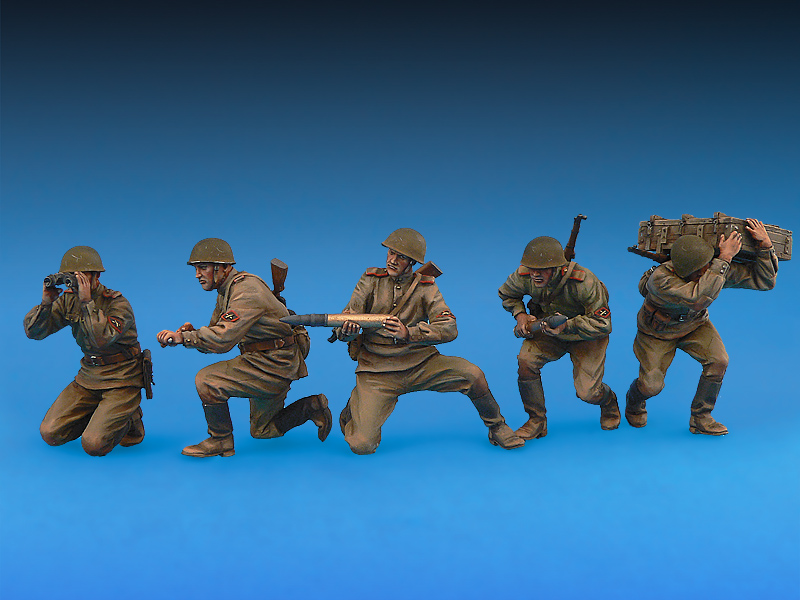 35031 二战苏联炮兵组