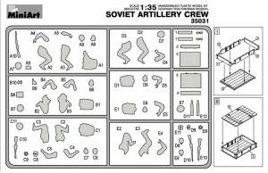 Content box 35031 二战苏联炮兵组