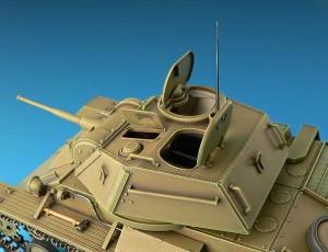 Photos 35038 SOVIET LIGHT TANK T-80 w/CREW
