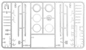 Content box 35032 SOVIET 76,2 mm DIV. FIELD GUN ZIS-3 w/CREW