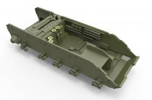 3D renders 37002   ソビエトT-44M中戦車