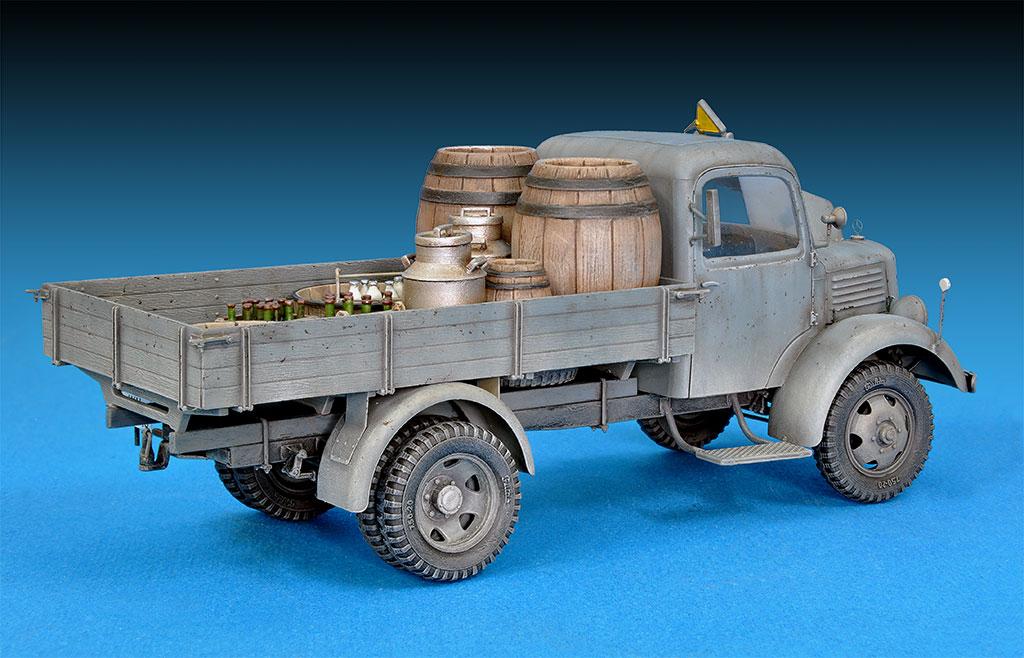 35142ドイツ軍L1500S 4X2カ-ゴトラック