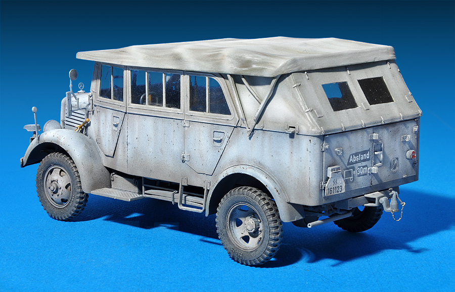 35147 L1500A (Kfz.70) GERMAN PERSONNEL CAR