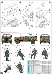 Content box 35139	ドイツ軍kfz.70MB1500A 4X4フィギュア6体付