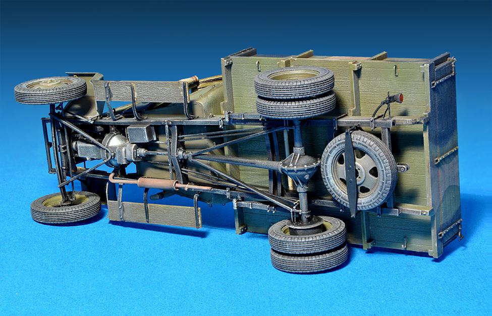 35130 GAZ-MM Mod.1941 1.5t  货运卡车
