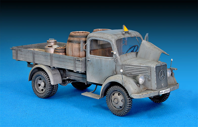 35142 MB 1500Sドイツ軍  4X2カーゴトラック