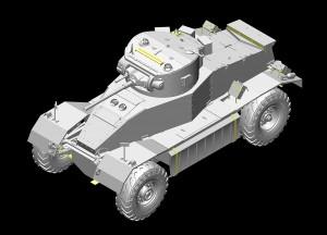 3D renders 35152 AEC Mk.I ARMOURED CAR