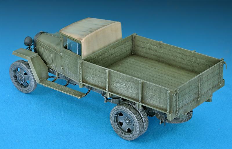 35134 GAZ-MM Mod.1943 货运卡车
