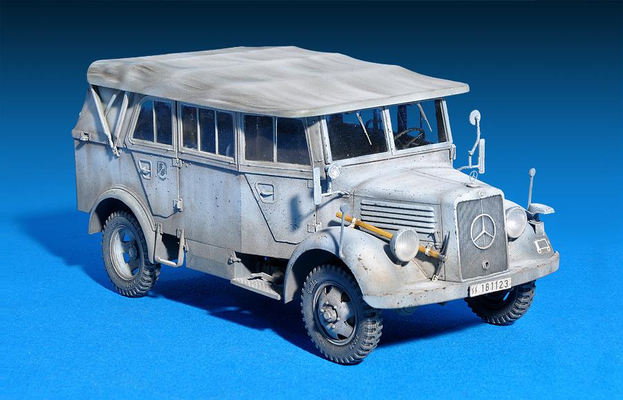 35147 L1500A (Kfz.70) GERMAN PERSONNEL CAR