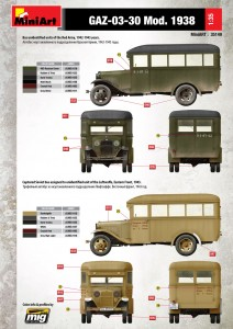 Content box 35149 GAZ-03-30 Mod. 1938
