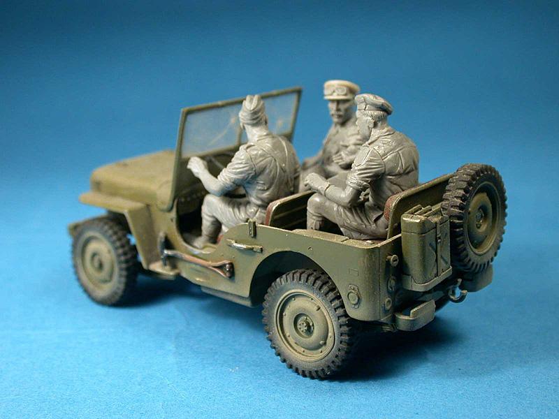 Miniart 35051 1//35 British Jeep Crew