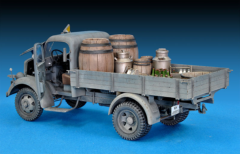 35142 MB 1500S GERMAN 1,5t CARGO TRUCK