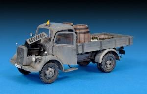 Photos 35142 MB 1500Sドイツ軍  4X2カーゴトラック