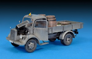 Photos 35142ドイツ軍L1500S 4X2カ-ゴトラック