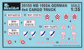 Content box 35150 MB 1500A 4×4 LASTWAGEN
