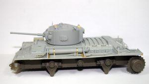 Build up 35092 VALENTINE Mk.IV RED ARMY w/CREW