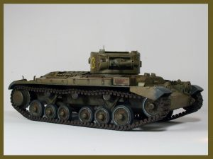 Build up 35092 VALENTINE Mk.IV RED ARMY w/CREW