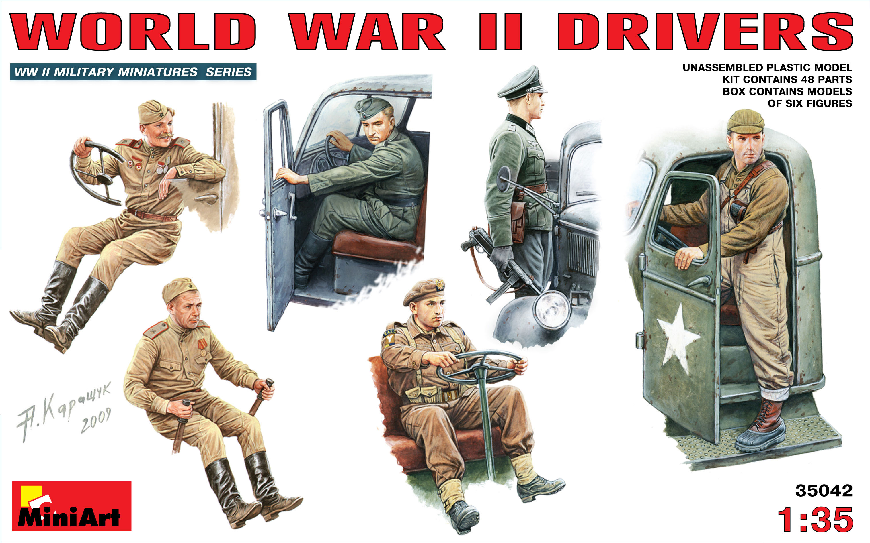 35042 WORLD WAR II DRIVERS