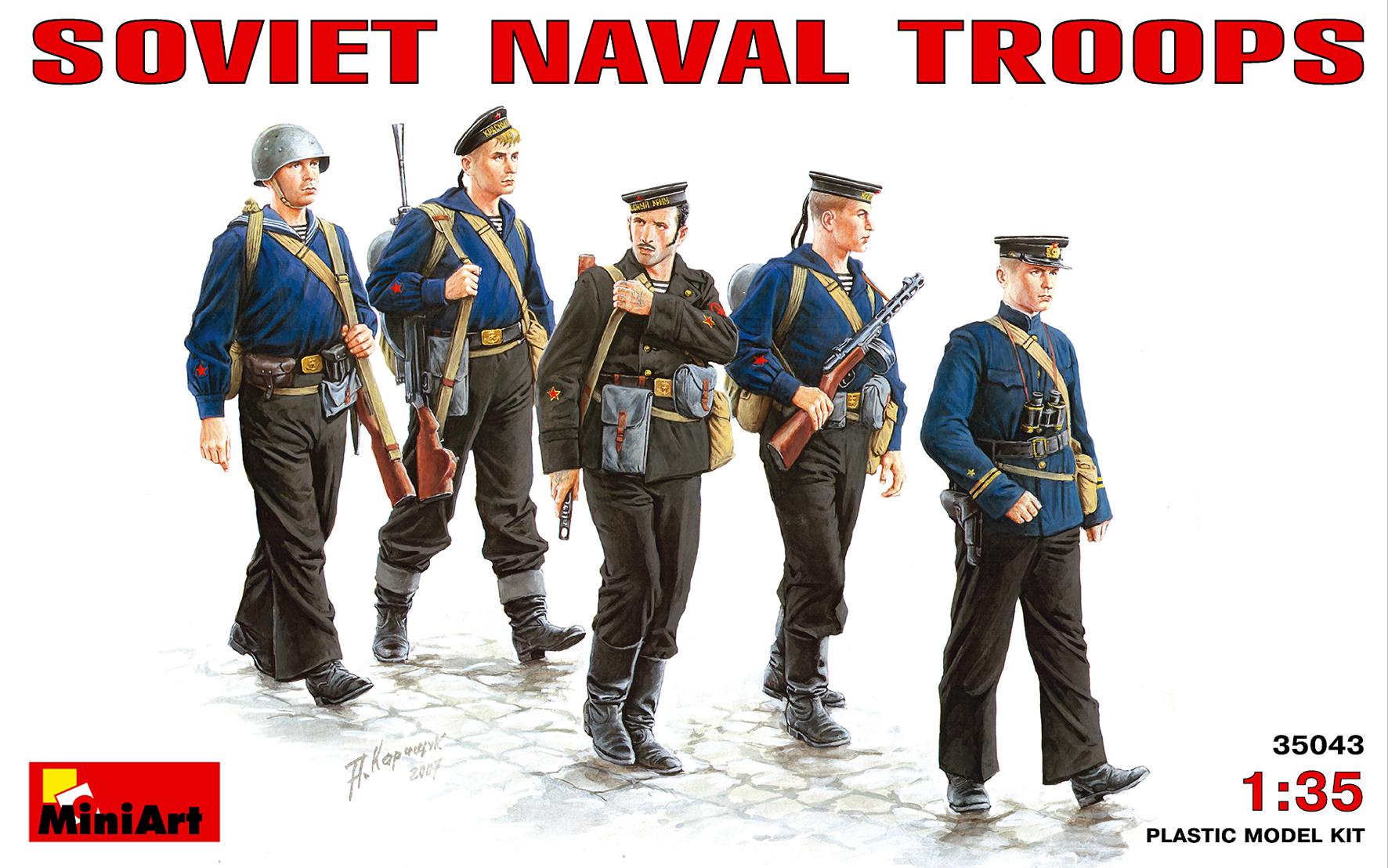 35043 SOVIET NAVAL TROOPS