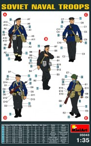 Content box 35043 SOVIET NAVAL TROOPS