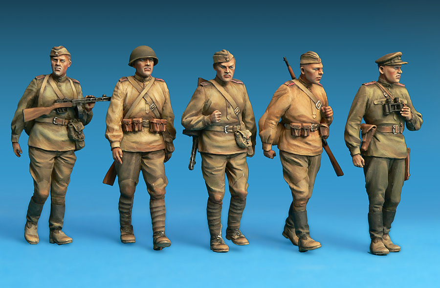 35108 SOVIET INFANTRY. SPECIAL EDITION