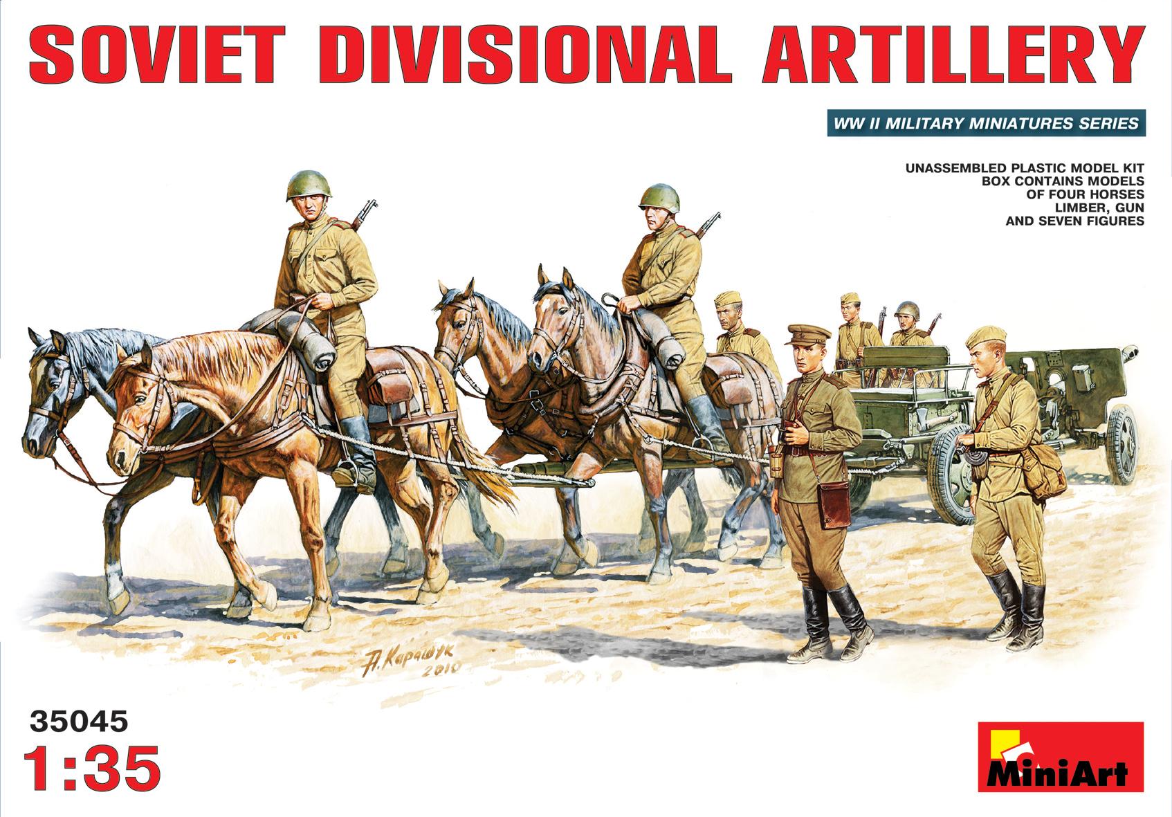 35045 SOVIET DIVISIONAL ARTILLERY