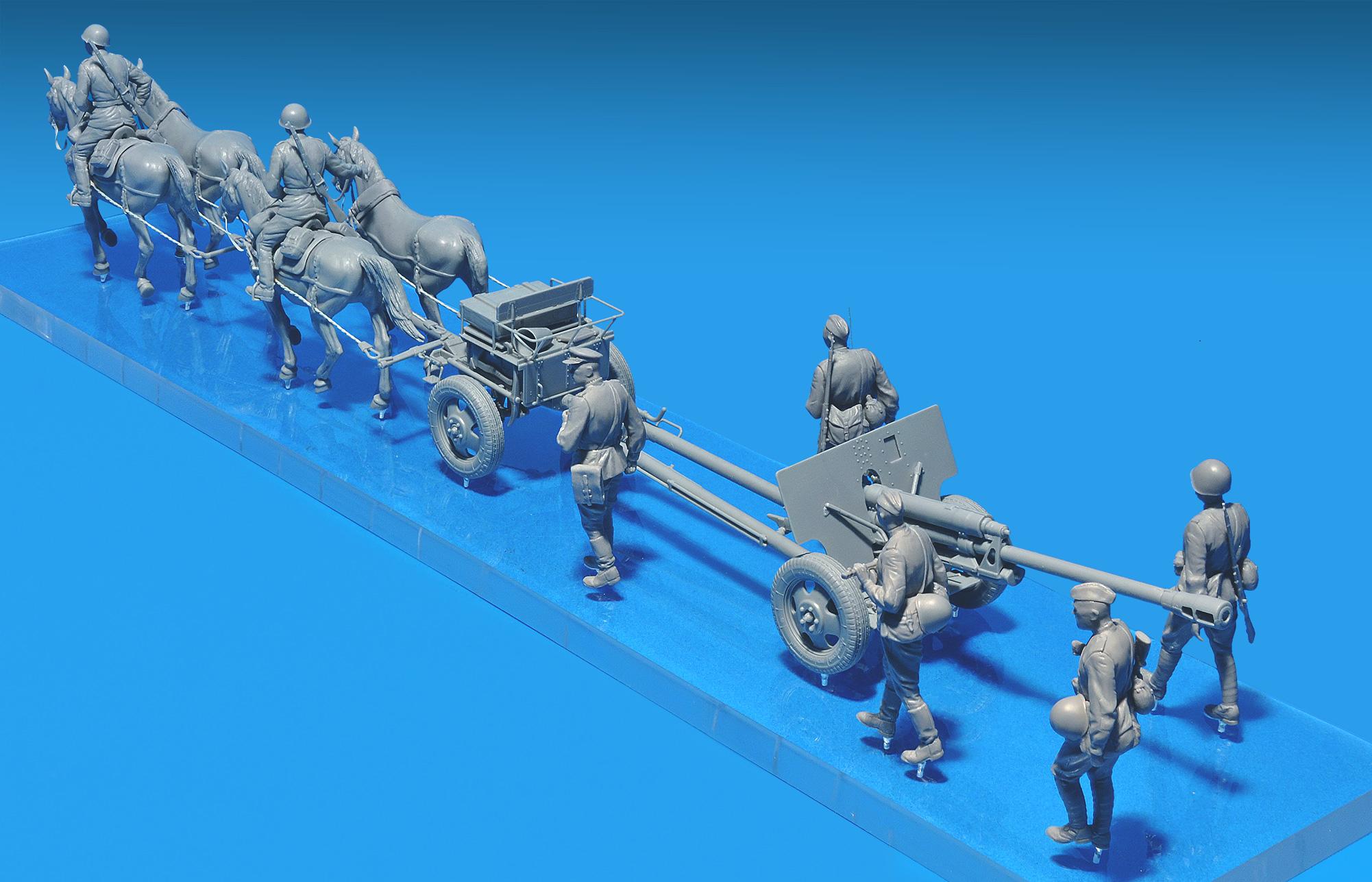 35045 苏联的师属炮兵