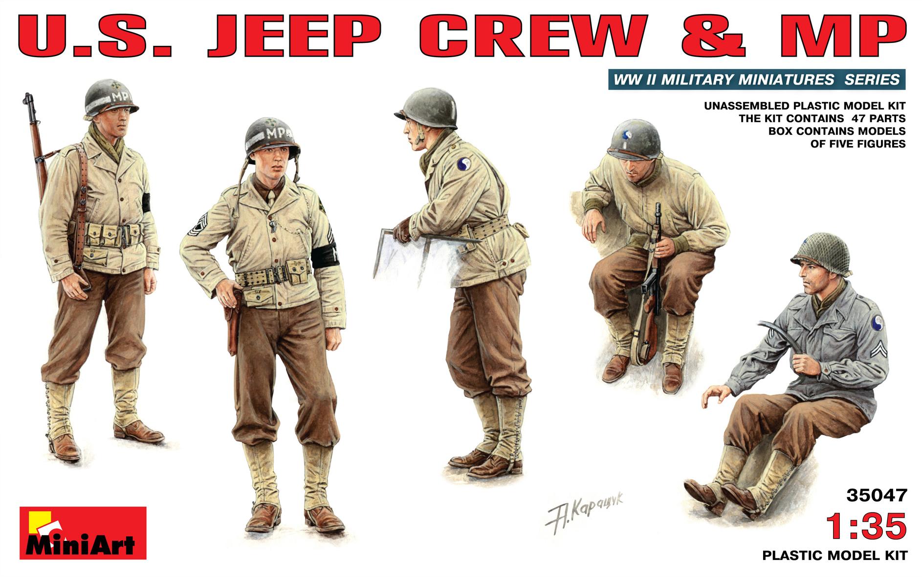 35047 U.S. JEEP CREW & MP