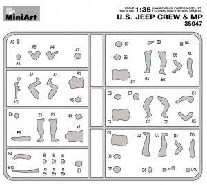 Content box 35047 U.S. JEEP CREW & MP