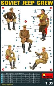 Content box 35049 苏联吉普车驾驶员&兵人