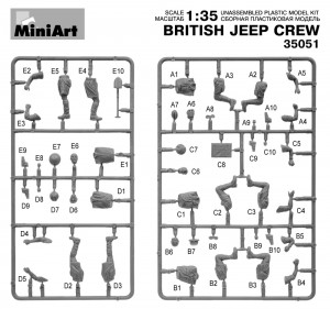 Content box 35051 BRITISH JEEP CREW