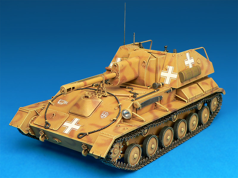 35053ヤ-クトパンタ-SU-76R&フィギュア5体付