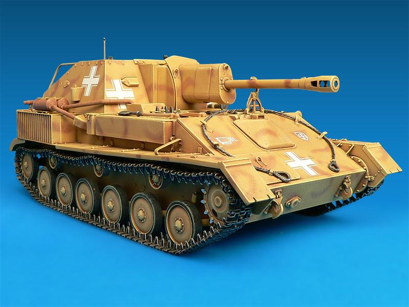 35053 JAGDPANZER SU-76(r) w/CREW
