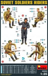 Content box 35055 苏联士兵骑手