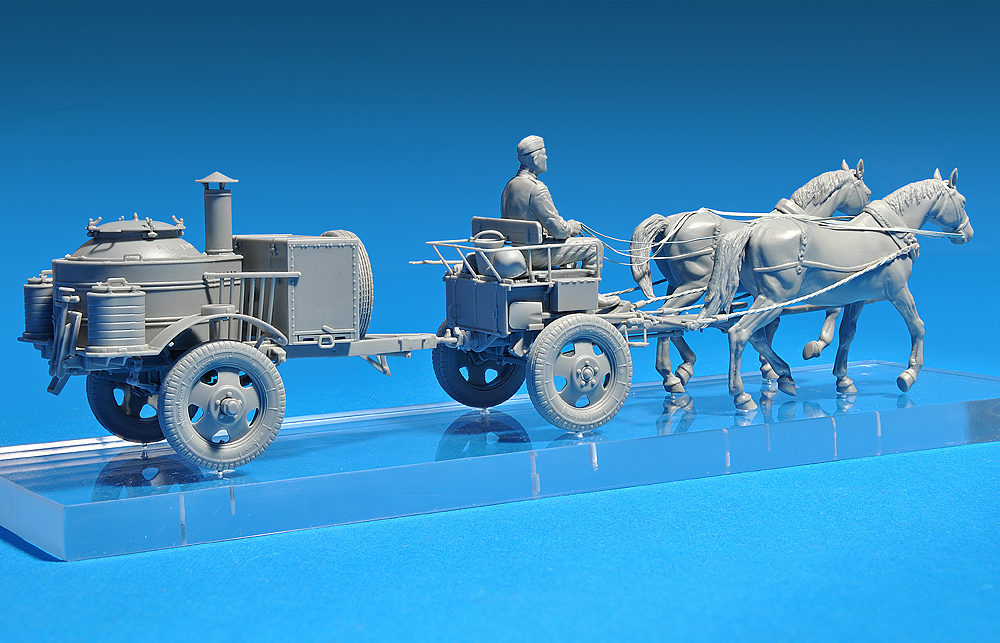 35057 HORSES DRAWN FIELD KITCHEN KP-42