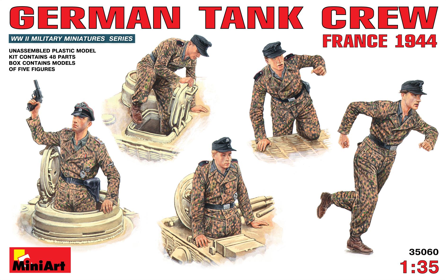 GERMAN TANK CREW (FRANCE 1944)