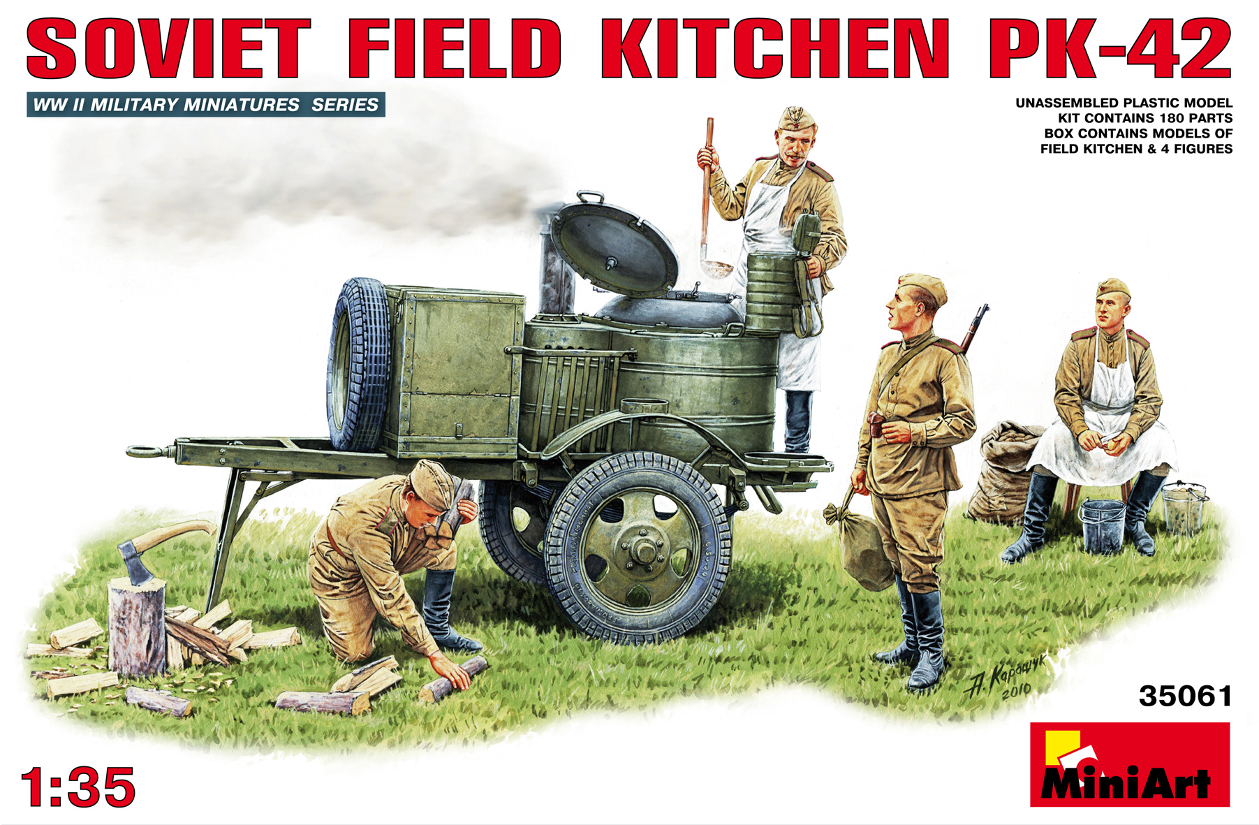 35061 SOVIET FIELD KITCHEN PK-42