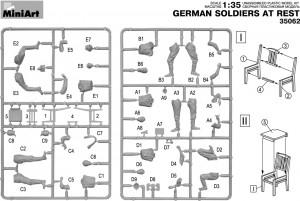 Content box 35062 德国士兵休息状态