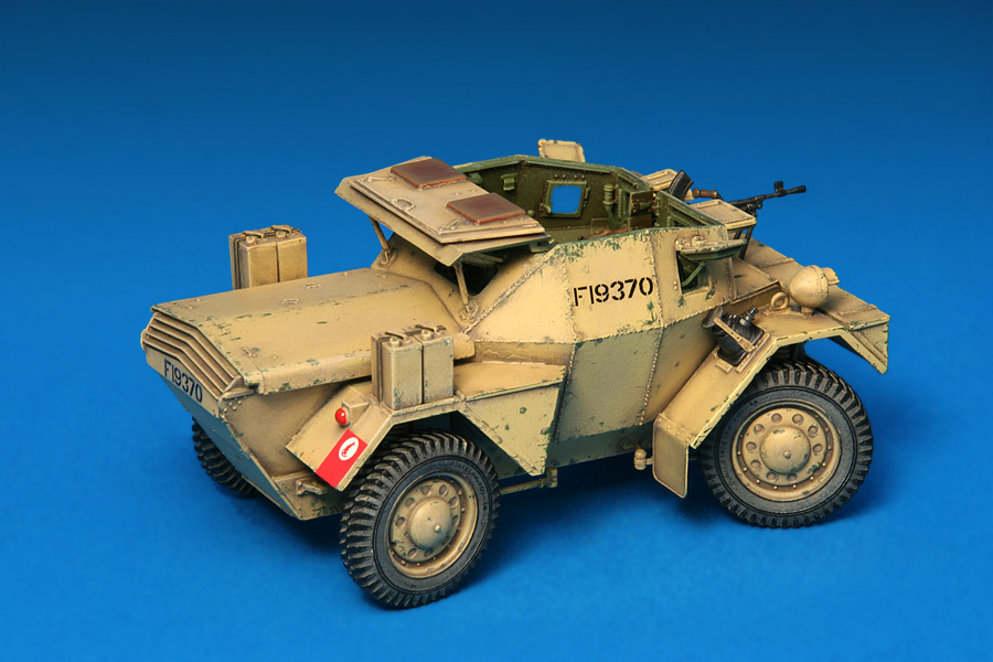 35067 DINGO Mk.1b BRITISH SCOUT CAR w/CREW