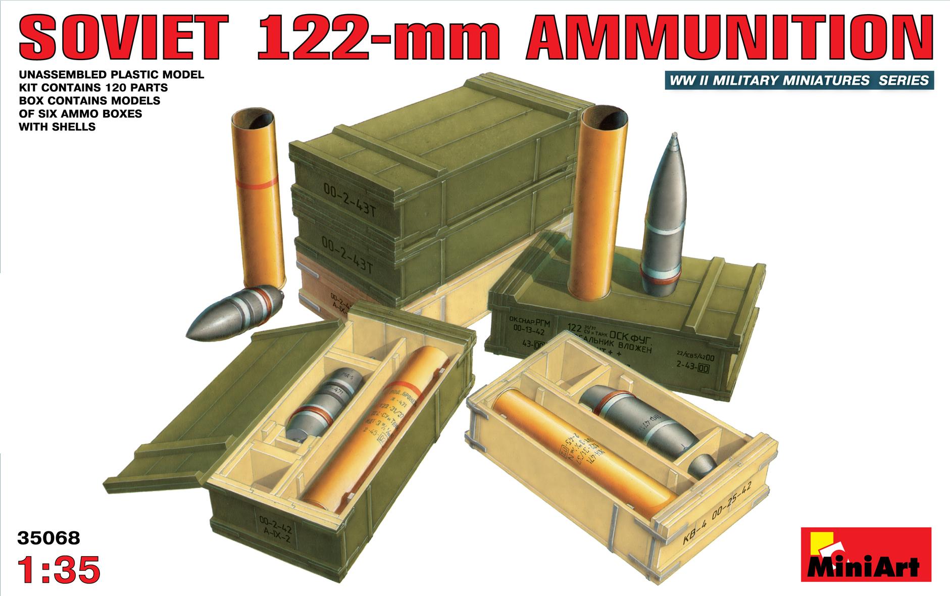 35068 SOVIET 122-mm AMMUNITION