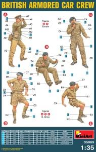 Content box 35069 英军装甲车/防弹车乘员组