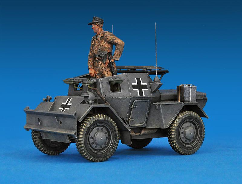 35074 野狗MK.II轮式装甲侦察车及乘员