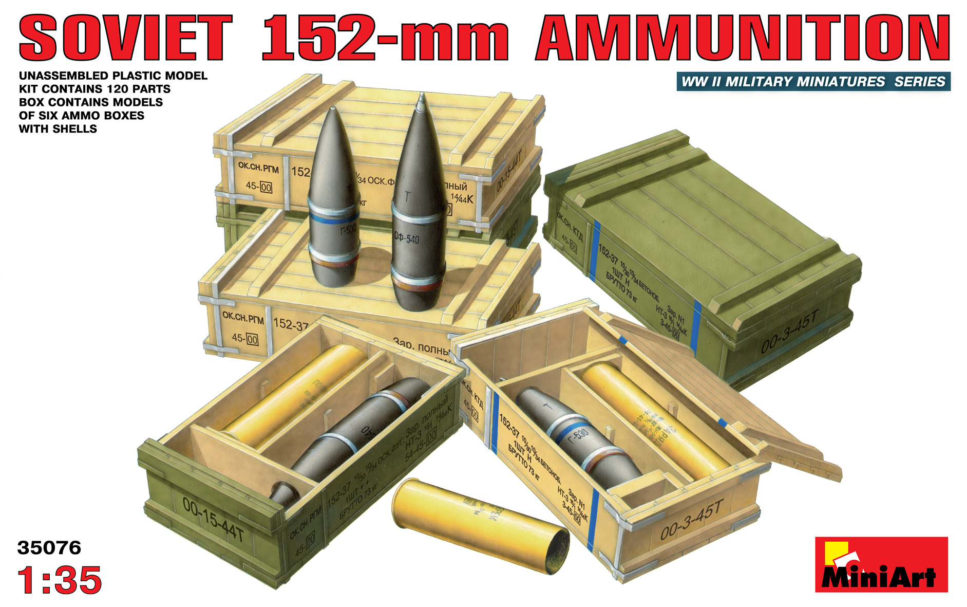 35076 SOVIET 152-mm AMMUNITION