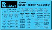 Content box 35076 苏联152mm炮弹