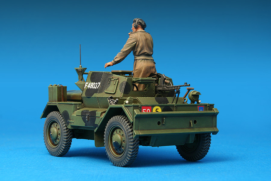 35077 英国侦察车野狗 MK.3带士兵